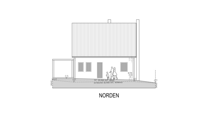 EFH 96 Ansicht Nord