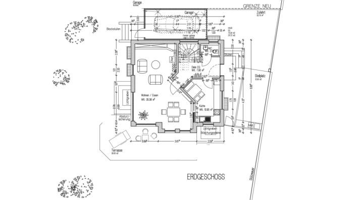 EFH 102 Grundriss Erdgeschoss