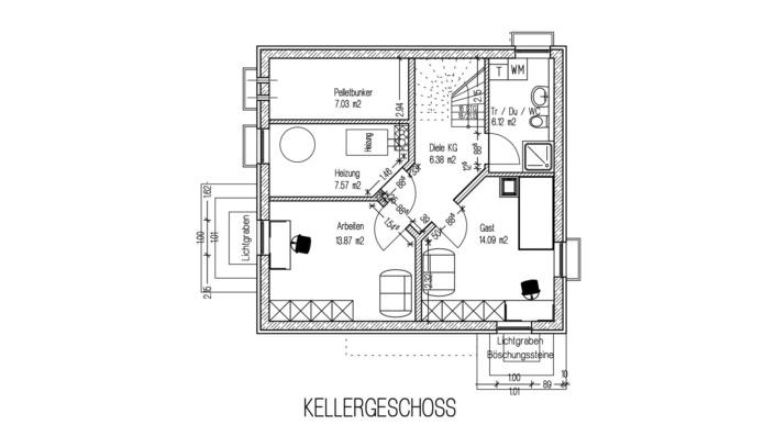 EFH 102 Grundriss Keller