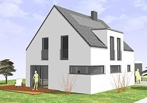 Einfamilienhaus mit 107 qm
