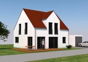 Einfamilienhaus mit 108 qm