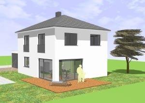 Einfamilienhaus mit 110 qm