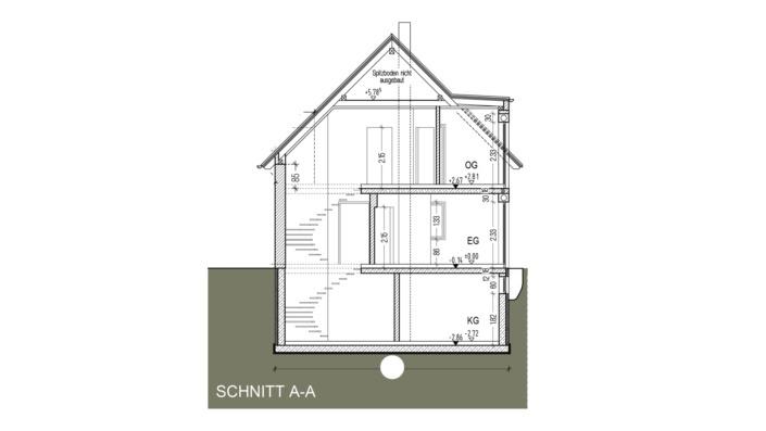 Einfamilienhaus mit 121 qm Schnitt