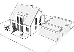 Einfamilienhaus mit 121 qm