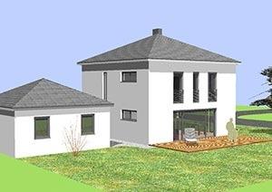 Einfamilienhaus mit 123 qm