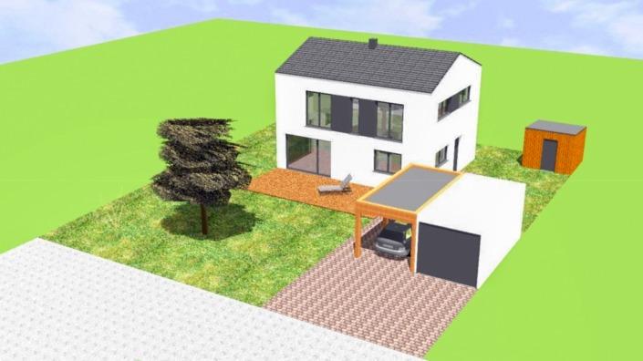 Einfamilienhaus mit 113 qm