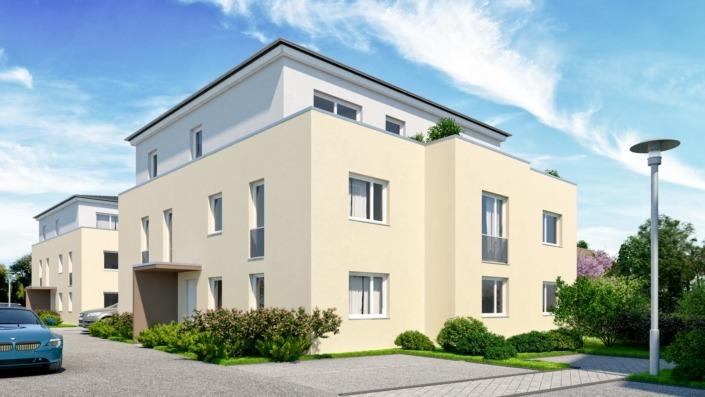 Wohnanlage Schlossblick, Haustyp A