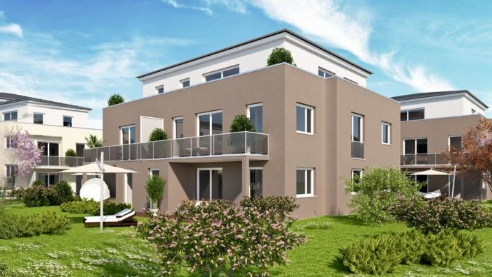 Wohnanlage Schlossblick, Haustyp B
