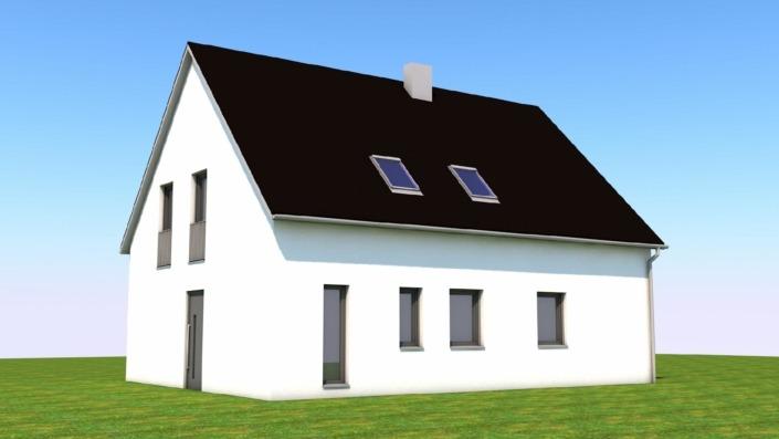 Einfamilienhaus mit 145 qm, Ansicht 3