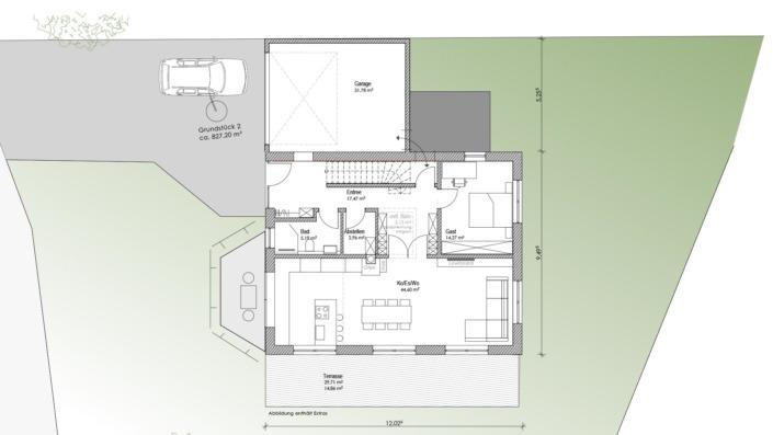 Einfamilienhaus mit 178 qm, Lage