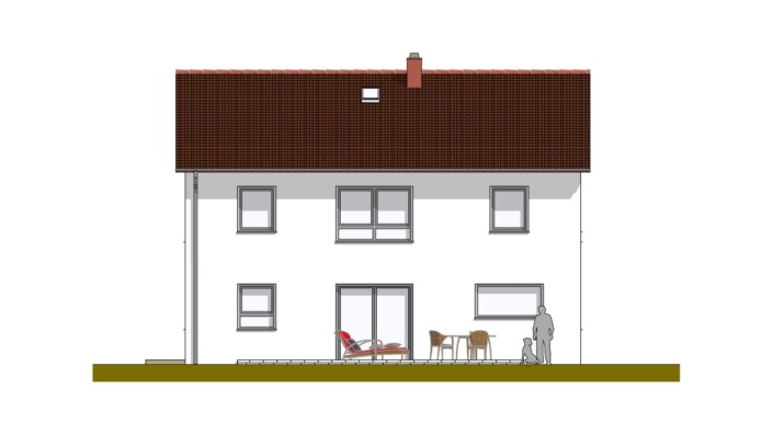 Einfamilienhaus mit 167 qm ohne Keller, Ansicht 1