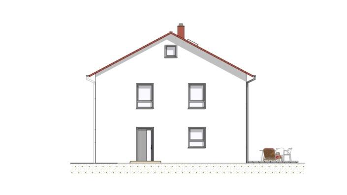 Einfamilienhaus mit 167 qm ohne Keller, Ansicht 3