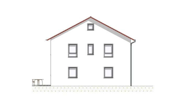 Einfamilienhaus mit 167 qm ohne Keller, Ansicht 4