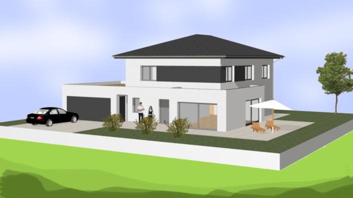 Einfamilienhaus ohne Keller