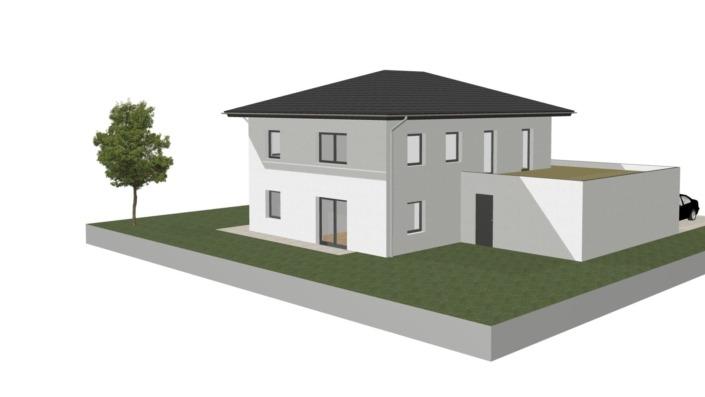 Einfamilienhaus mit 188 qm ohne Keller, Ansicht 3