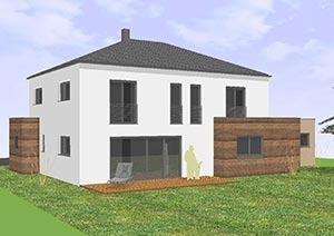 Einfamilienhaus mit 185 qm