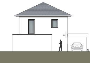 Schmales Haus mit 148 qm