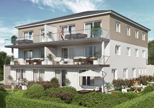 Mehrfamilienhaus Sengenthal, Visualisierung
