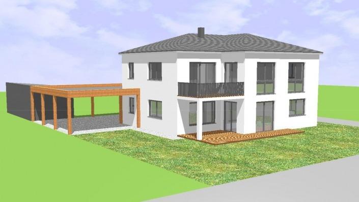 Ansicht Südwest Haus des Monats Mai 2021